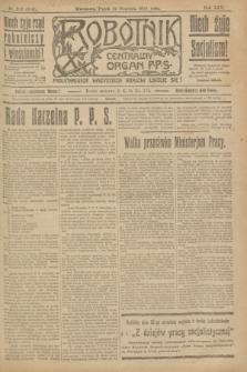 Robotnik : centralny organ P.P.S. R.25, nr 312 (19 września 1919) = nr 689