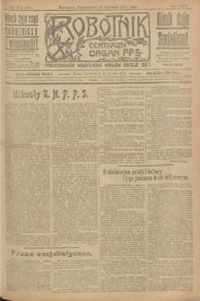 Robotnik : centralny organ P.P.S. R.25, nr 315 (22 września 1919) = nr 692