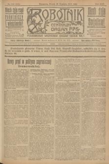 Robotnik : centralny organ P.P.S. R.25, nr 316 (23 września 1919) = nr 693