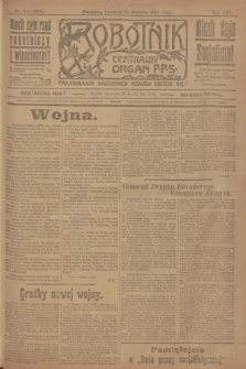 Robotnik : centralny organ P.P.S. R.25, nr 318 (25 września 1919) = nr 695