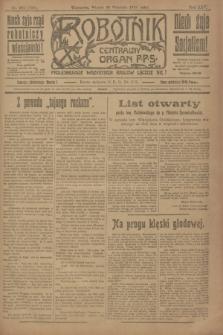Robotnik : centralny organ P.P.S. R.25, nr 323 (30 września 1919) = nr 700