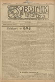 Robotnik : centralny organ P.P.S. R.25, nr 327 (4 października 1919) = nr 704
