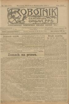 Robotnik : centralny organ P.P.S. R.25, nr 328 (5 października 1919) = nr 705