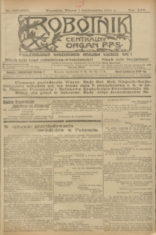 Robotnik : centralny organ P.P.S. R.25, nr 330 (7 października 1919) = nr 707
