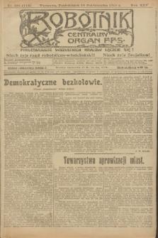 Robotnik : centralny organ P.P.S. R.25, nr 336 (13 października 1919) = nr 713