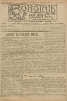 Robotnik : centralny organ P.P.S. R.25, nr 338 (15 października 1919) = nr 715