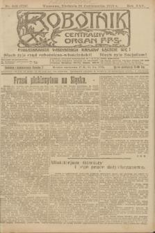 Robotnik : centralny organ P.P.S. R.25, nr 349 (26 października 1919) = nr 726
