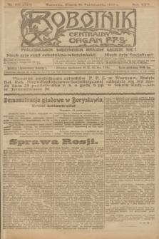 Robotnik : centralny organ P.P.S. R.25, nr 351 (28 października 1919) = nr 728