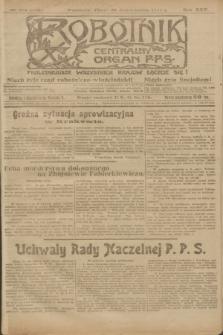 Robotnik : centralny organ P.P.S. R.25, nr 354 (31 października 1919) = nr 731
