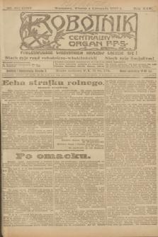 Robotnik : centralny organ P.P.S. R.25, nr 357 (4 listopada 1919) = nr 734