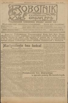 Robotnik : centralny organ P.P.S. R.25, nr 358 (5 listopada 1919) = nr 735
