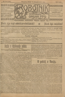 Robotnik : centralny organ P.P.S. R.25, nr 368 (15 listopada 1919) = nr 745