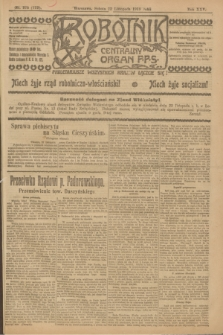 Robotnik : centralny organ P.P.S. R.25, nr 375 (22 listopada 1919) = nr 752