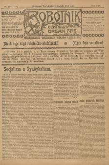 Robotnik : centralny organ P.P.S. R.25, nr 384 (1 grudnia 1919) = nr 761