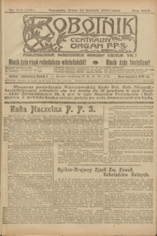 Robotnik : centralny organ P.P.S. R.25, nr 392 (10 grudnia 1919) = nr 769