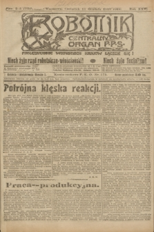 Robotnik : centralny organ P.P.S. R.25, nr 393 (11 grudnia 1919) = nr 770