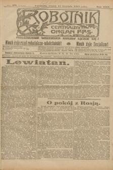 Robotnik : centralny organ P.P.S. R.25, nr 394 (12 grudnia 1919) = nr 771