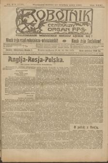 Robotnik : centralny organ P.P.S. R.25, nr 395 (15 grudnia 1919) = nr 772