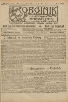 Robotnik : centralny organ P.P.S. R.25, nr 397 (15 grudnia 1919) = nr 774