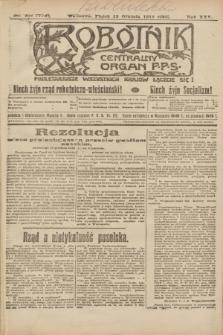 Robotnik : centralny organ P.P.S. R.25, nr 401 (19 grudnia 1919) = nr 778