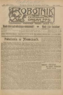Robotnik : centralny organ P.P.S. R.25, nr 407 (27 grudnia 1919) = nr 784