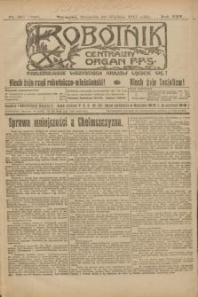 Robotnik : centralny organ P.P.S. R.25, nr 408 (28 grudnia 1919) = nr 785