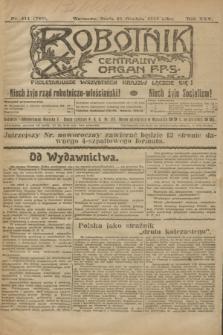 Robotnik : centralny organ P.P.S. R.25, nr 411 (31 grudnia 1919) = nr 788