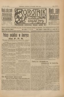 Robotnik : centralny organ P.P.S. R.26, nr 11 (11 stycznia 1920) = nr 799