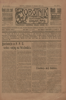 Robotnik : centralny organ P.P.S. R.26, nr 26 (26 stycznia 1920) = nr 814