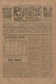 Robotnik : centralny organ P.P.S. R.26, nr 27 (27 stycznia 1920) = nr 815