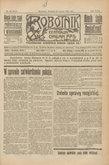 Robotnik : centralny organ P.P.S. R.26, nr 59 (29 lutego 1920) = nr 847