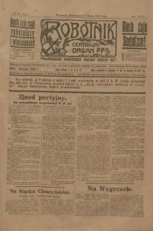 Robotnik : centralny organ P.P.S. R.26, nr 67 (8 marca 1920) = nr 855