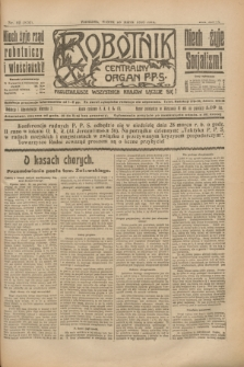 Robotnik : centralny organ P.P.S. R.26, nr 82 (23 marca 1920) = nr 870