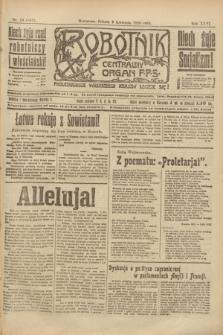 Robotnik : centralny organ P.P.S. R.26, nr 93 (3 kwietnia 1920) = nr 881