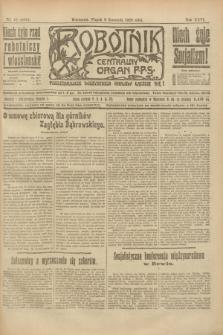 Robotnik : centralny organ P.P.S. R.26, nr 97 (9 kwietnia 1920) = nr 885