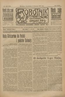 Robotnik : centralny organ P.P.S. R.26, nr 100 (12 kwietnia1920) = nr 888