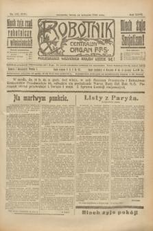 Robotnik : centralny organ P.P.S. R.26, nr 102 (14 kwietnia 1920) = nr 890