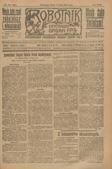 Robotnik : centralny organ P.P.S. R.26, nr 134 (19 maja 1920) = nr 922