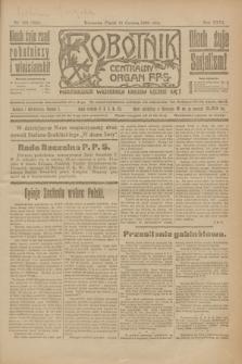 Robotnik : centralny organ P.P.S. R.26, nr 156 (11 czerwca 1920) = nr 944