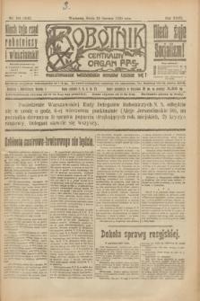 Robotnik : centralny organ P.P.S. R.26, nr 168 (23 czerwca 1920) = nr 956