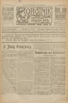 Robotnik : centralny organ P.P.S. R.26, nr 183 (8 lipca 1920) = nr 971