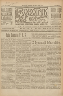 Robotnik : centralny organ P.P.S. R.26, nr 204 (29 lipca 1920) = nr 992