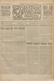 Robotnik : centralny organ P.P.S. R.26, nr 216 (10 sierpnia 1920) = nr 1004