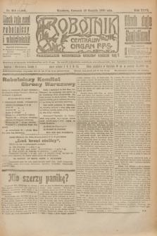Robotnik : centralny organ P.P.S. R.26, nr 218 (12 sierpnia 1920) = nr 1006