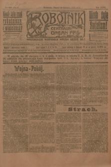 Robotnik : centralny organ P.P.S. R.26, nr 226 (20 sierpnia 1920) = nr 1014