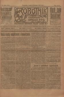 Robotnik : centralny organ P.P.S. R.26, nr 240 (3 września 1920) = nr 1028