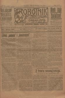 Robotnik : centralny organ P.P.S. R.26, nr 252 (15 września 1920) = nr 1040