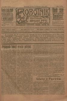 Robotnik : centralny organ P.P.S. R.26, nr 255 (18 września 1920) = nr 1043