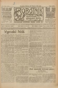 Robotnik : centralny organ P.P.S. R.26, nr 263 (26 września 1920) = nr 1051