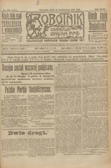 Robotnik : centralny organ P.P.S. R.26, nr 280 (13 października 1920) = nr 1067